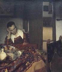 Slapend meisje, 1656, Vermeer
