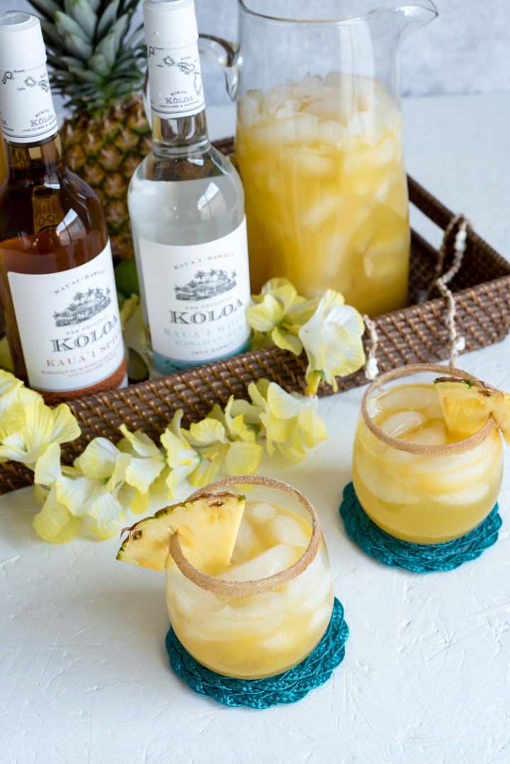Spiced Pineapple Rum Punch-250