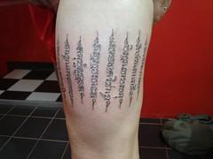 thai tradition tattoo (Dejavu Tattoo Studio Chiangmai Thailand) | by augrust