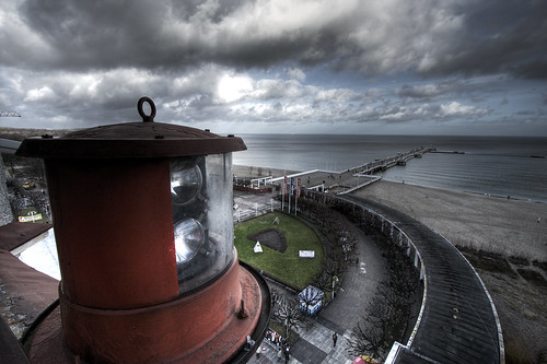 winter sea lighthouse water landscape wide poland 1022mm hdr sopot 3xp 400d