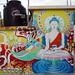 Puerto Vallarta Buddha Mural at Twilight by Wonderlane