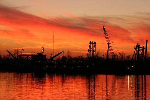sunset reflection ben dusk avivi