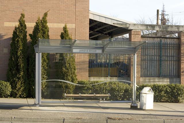 Joyce & Euclid Bus Stop