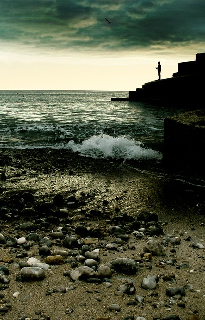 Alone again - Freshwater Bay, Isle of Wight
