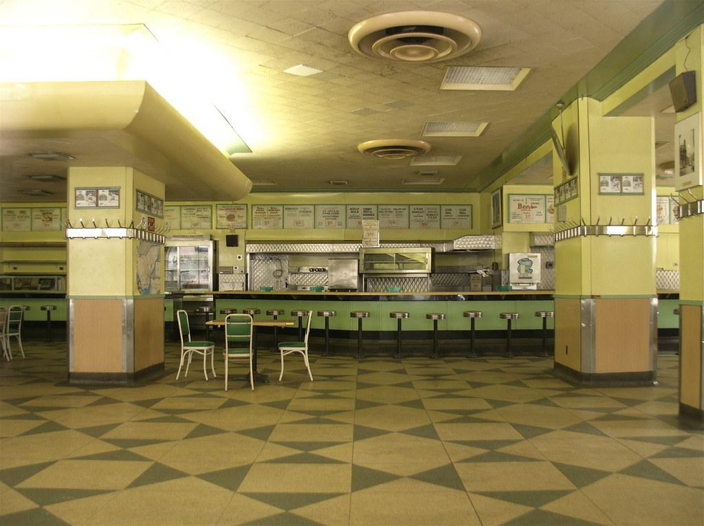 Bens Original Terrazzo Floor Demolished Sandra Cohen