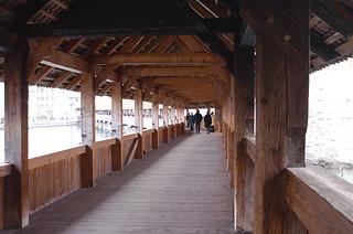 Crossing the River Reuss