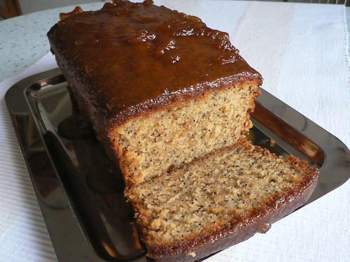 Bitter orange & poppy seed cake