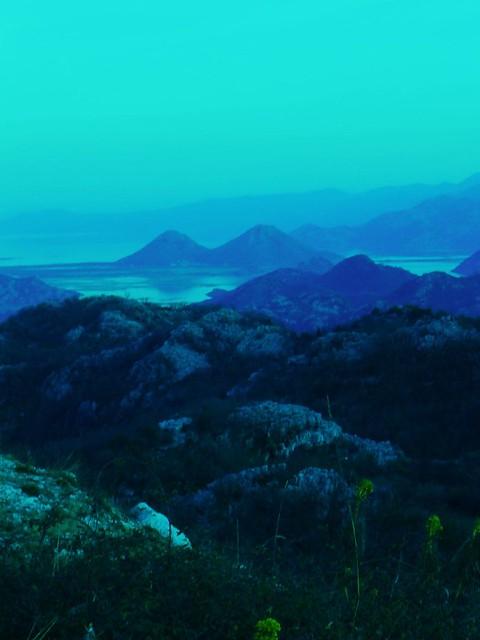 view on the skadar lake- montenegro