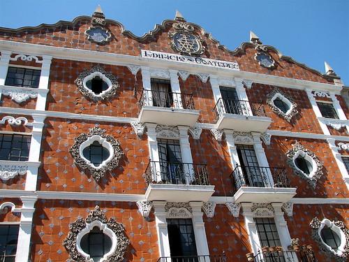 Edificio Coatepec, Puebla, Mexico.