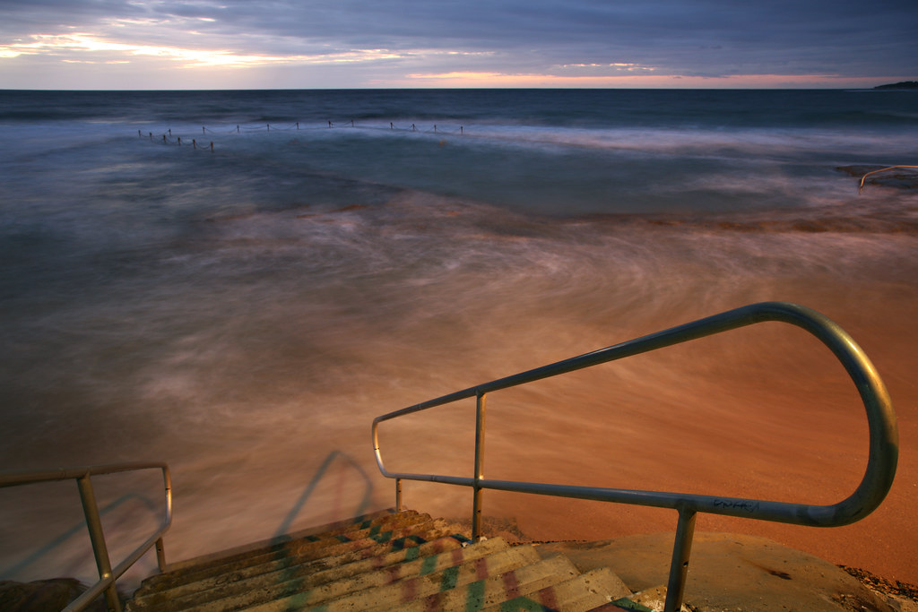 Steps to the Rockpool