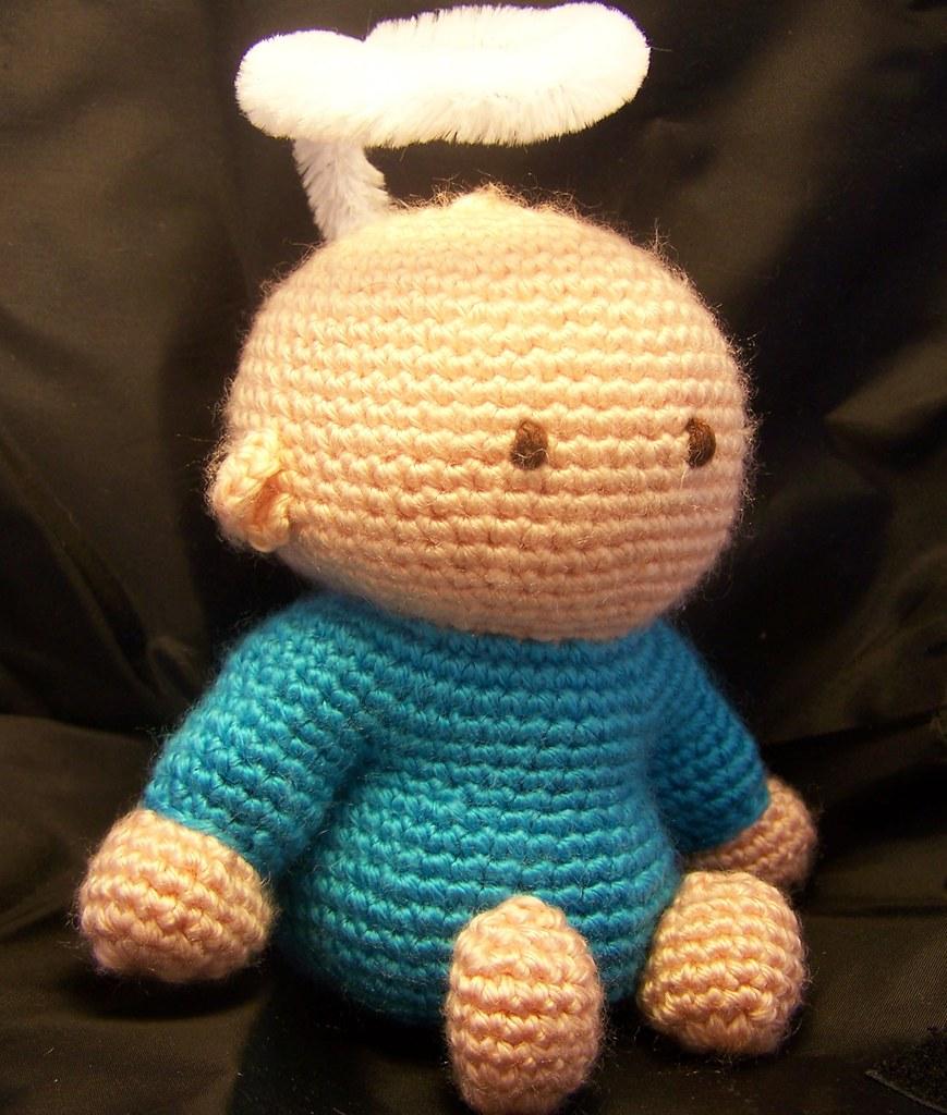 Easy Crochet Angel Amigurumi Free Pattern | Crochet angel pattern ... | 1024x869