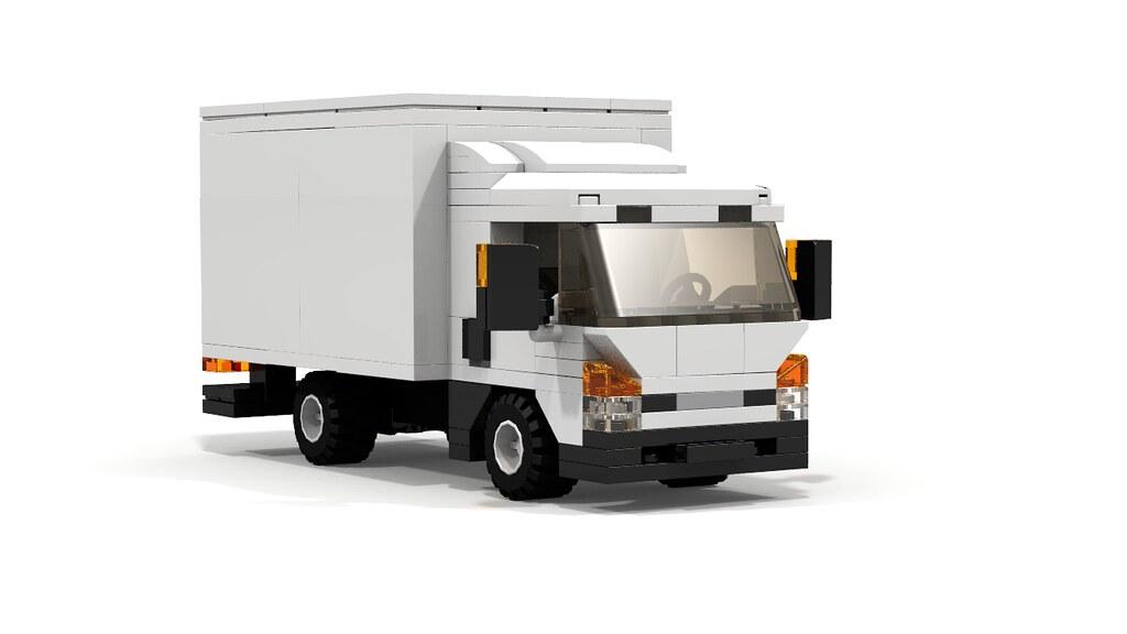 Lego City Cargo Truck Building Instructons Wwwyoutubeco Flickr