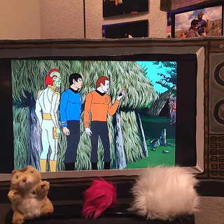 We had the animated series on for people to enjoy today. #USSZebulonPike / on Instagram https://www.instagram.com/p/BB_jmNtMmoM/