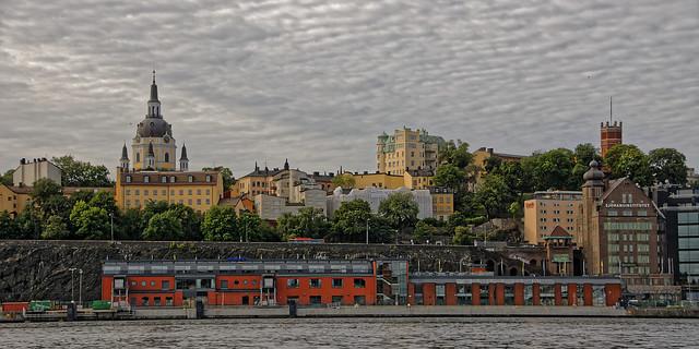 Stockholm viewed from its waterways / Vue de Stockholm depuis ses cours d'eau (28)