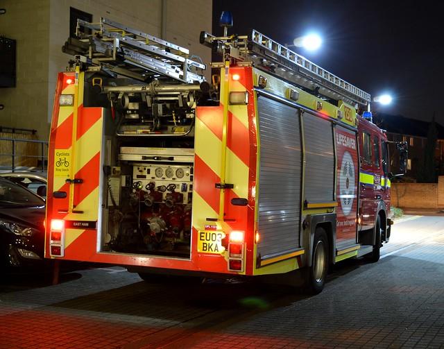London Fire Brigade (2) @ Gallions Point 12-04-16