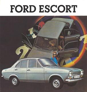 1970 Ford Escort brochure