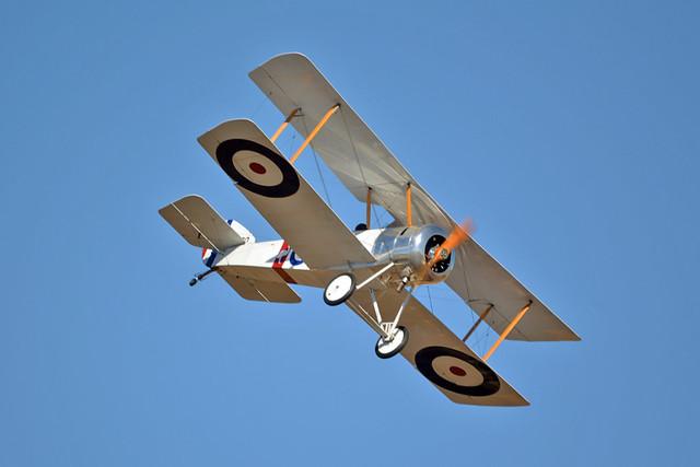 Vintage RAAF Museum Formation - VH-PSP/D4170 Sopwith Pup Replica RAAF Museum