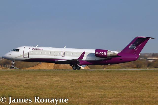 B-3011 | Canadair CRJ200ER | Sparkle Roll Jet