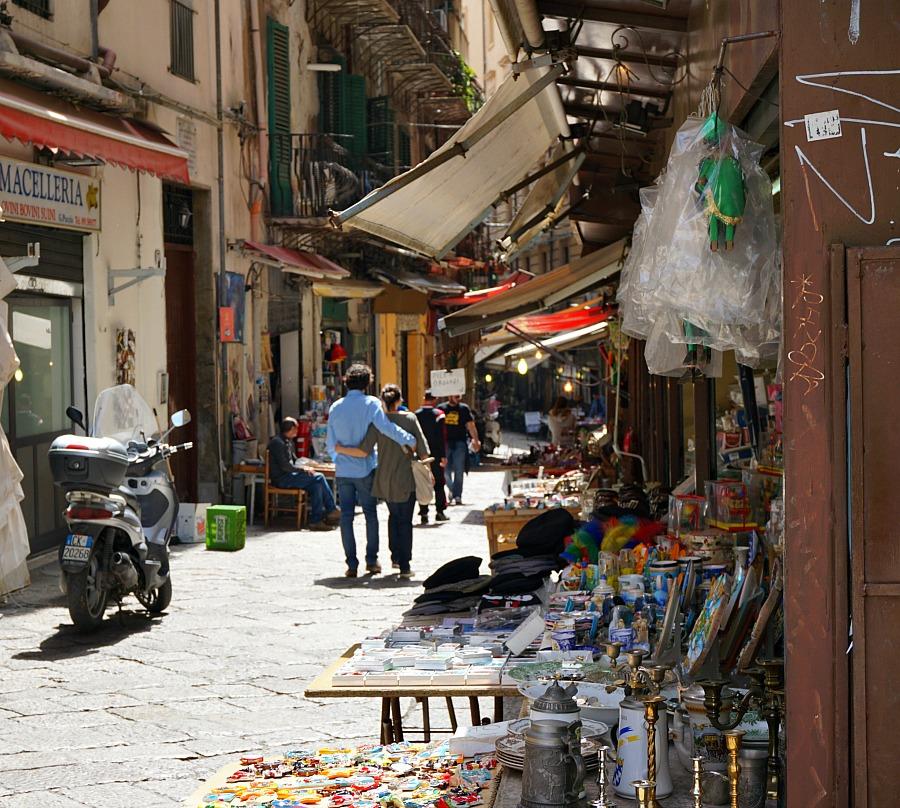 Palermo Sicily Outdoor Market