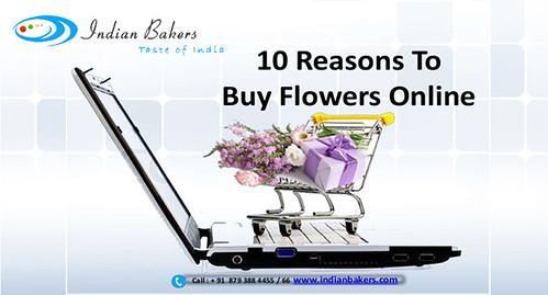 10 Reasons to Buy Flowers Online