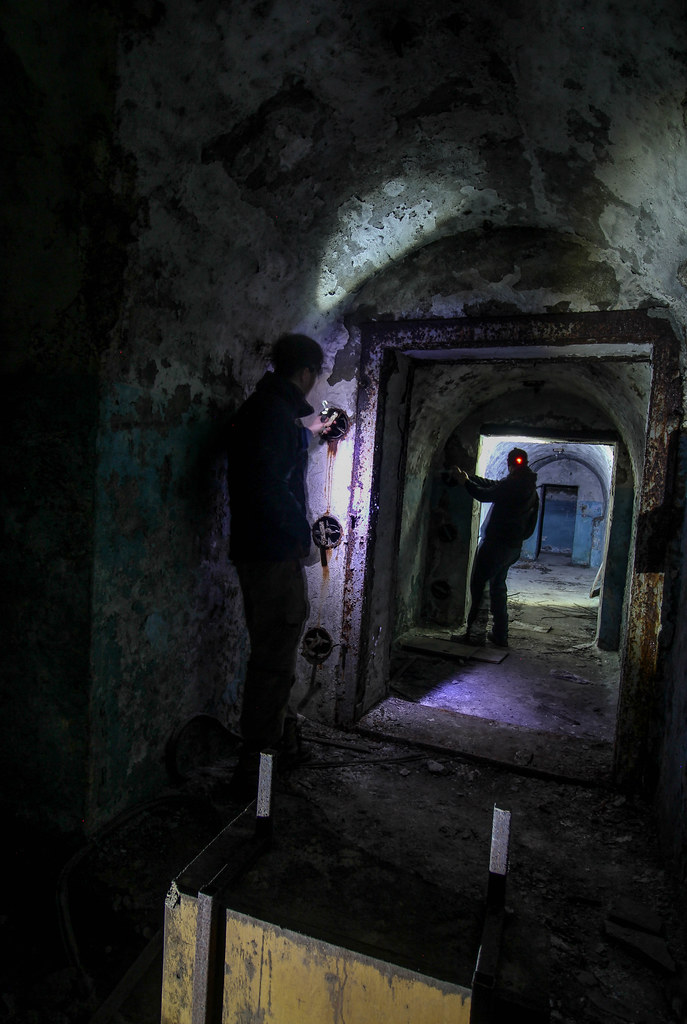 Blast proof doors | A nuclear bunker at the heart of Tbilisi