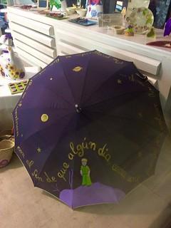 Paraguas El Principito.