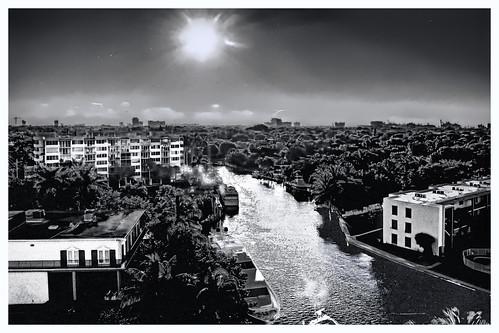 urban blackandwhite usa sunrise cityscape realestate florida fortlauderdale residential condominium newriver southflorida sunshinestate jorgemolina nikond7100