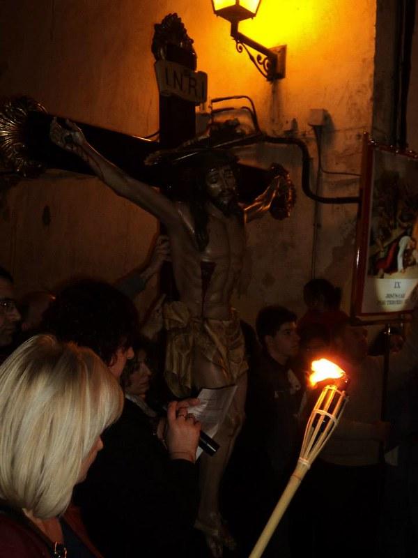 (2014-04-01) - V Vía Crucis nocturno -  Antonio Vázquez (03)