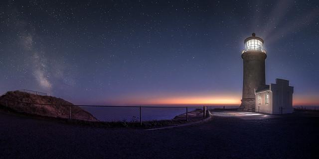 North Head LIghthouse twilight