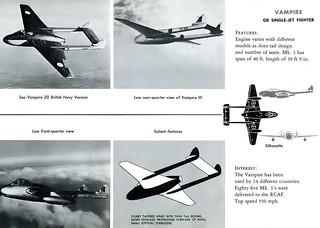 AF Manual 355-10 / de Havilland Vampire