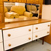 Retro 4 drawer dresser