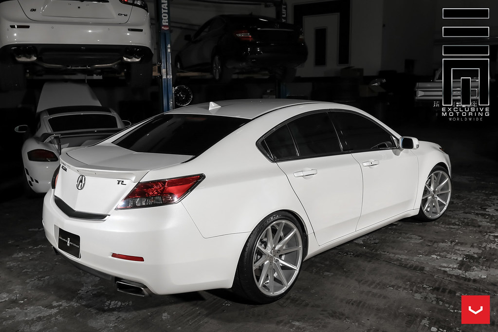 Acura Tl Vfs 1 Silver C Vossen Wheels 2016 1009 Flickr