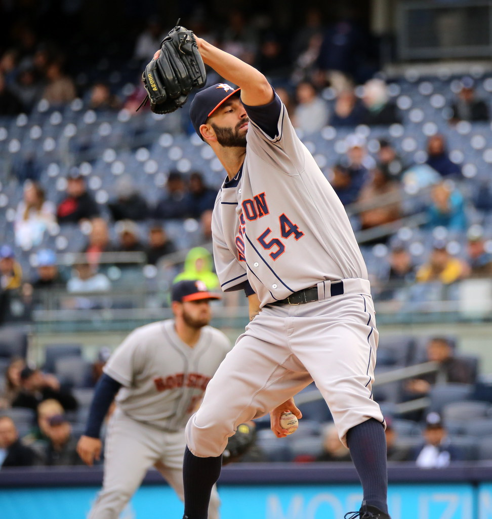 Mike Fiers Yankees: Mike Fiers Pitches Vs. Yankees