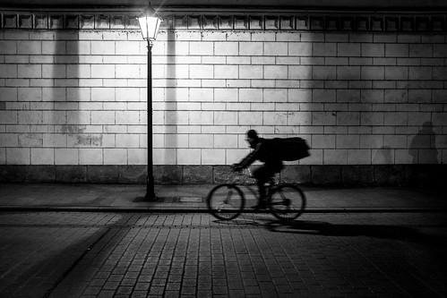 Kraków night street scene | by Jaimegfoto