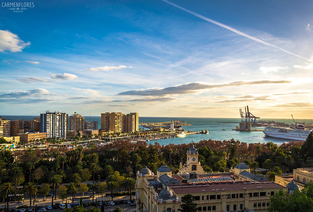 Málaga...