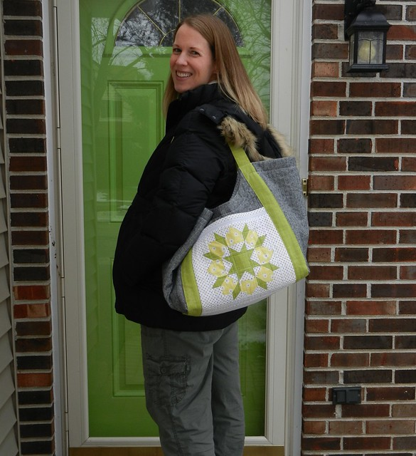 Teri with Tote 2
