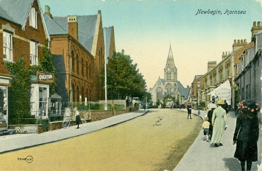 Newbegin, Hornsea 1900 (archive ref PO-1-65-23)