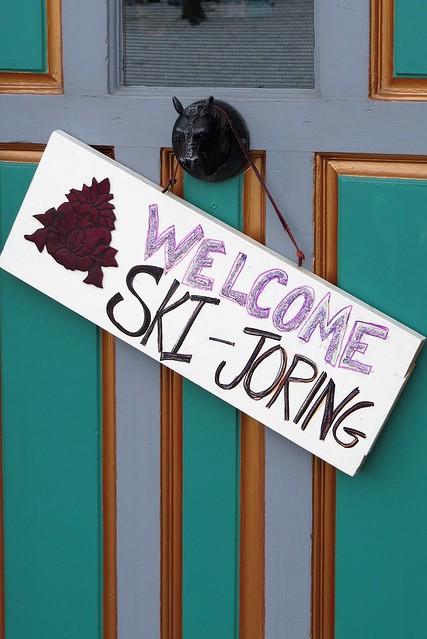 Ski-Joring in Leadville