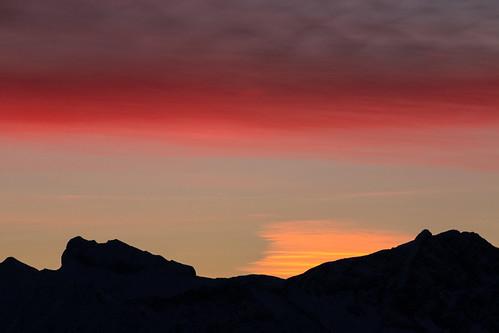 morning winter red sky mountain mountains cold sunrise canon de bayern deutschland eos dawn allgäu 70d obermaiselstein