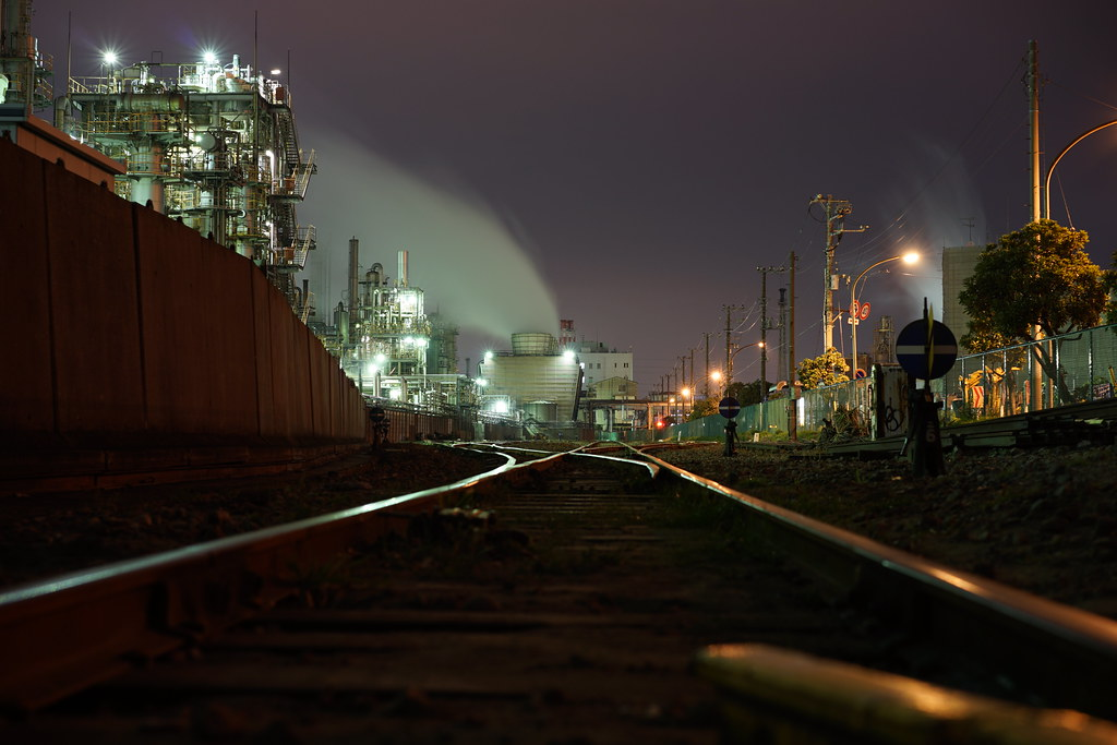 工場夜景20