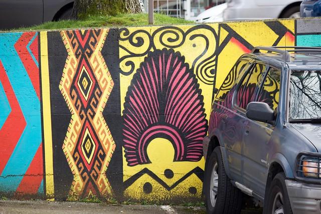 Parking Lot Art 002