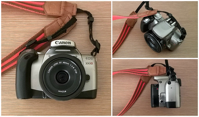 Canon EOS 300X & EF 2.8/40 STM