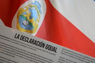 El Presidente de Costa Rica firma GQUAL