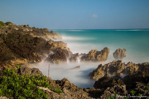 ocean longexposure blue winter sea sky seascape water rock island coast long paradise waves stormy atlantic coastal bermuda density neutral islandlife