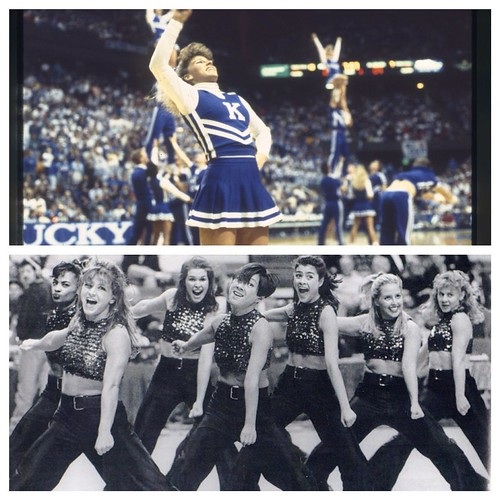 In honor of @kentuckycheer & @ukdanceteam competing in nationals this weekend, we #tbt to these 1991 & 1997 images of the teams. Best of luck to both teams as they show the rest of the nation how it's done at @ucaupdates & @udadance! Go Big Blue!  Photos