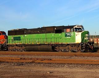 BNSF 1433 TULSA OKLAHOMA