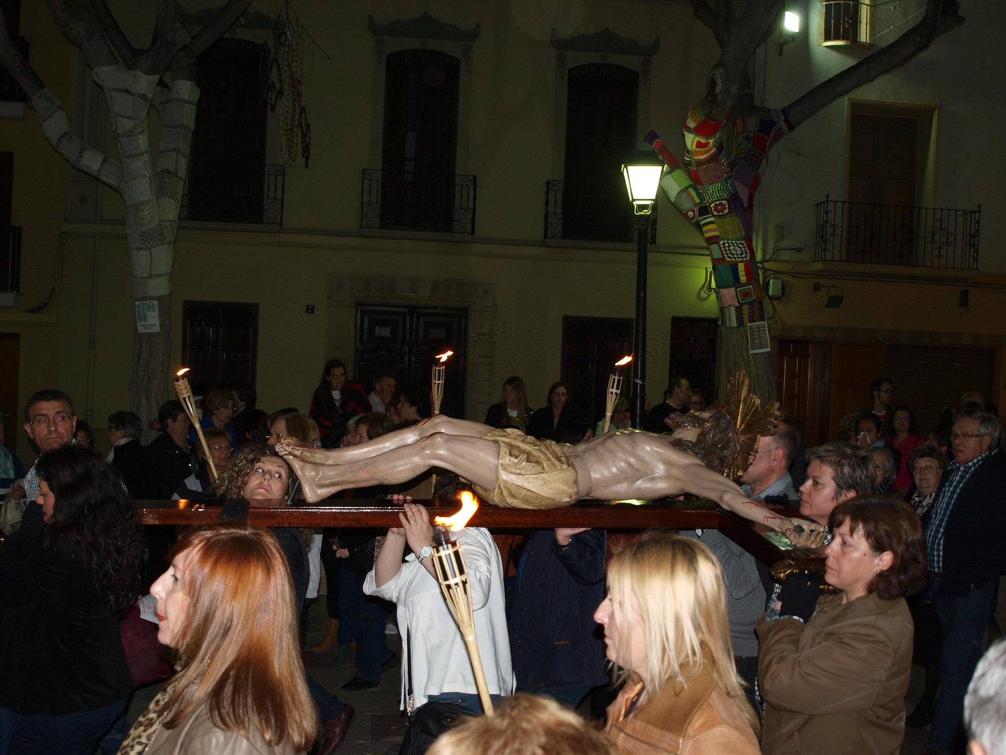 (2014-04-01) - V Vía Crucis nocturno - Paloma Romero Torralba (27)
