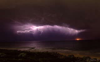 Lightning seascapes | by jfoo1987