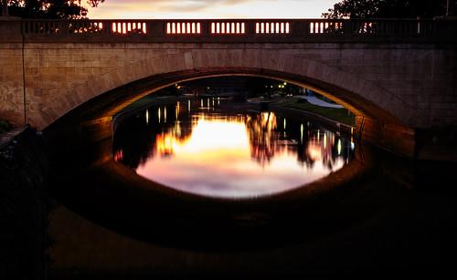 bridge reflection brick history water sunrise reflections river sandstone bricks earlymorning parramatta westernsydney