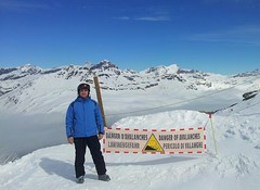Na vrcholu Bonnevalu 3050 m n./m
